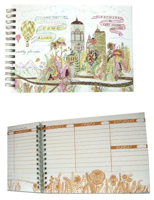 planner - cover plus internal pages
