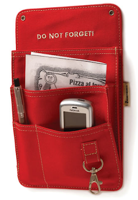 magnetic organizer (pockets for stuff)