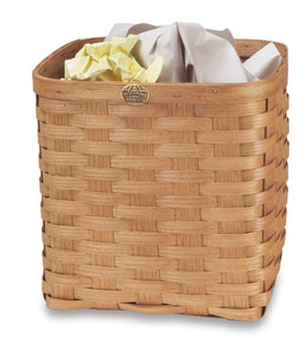 wastebasket - handwoven basket