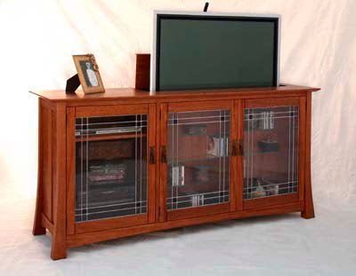 plasma TV lift cabinet
