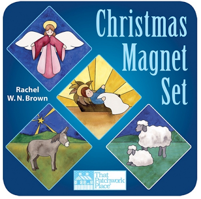 Christmas magnet set