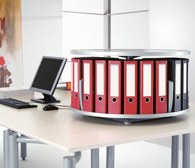 desktop binder carousel