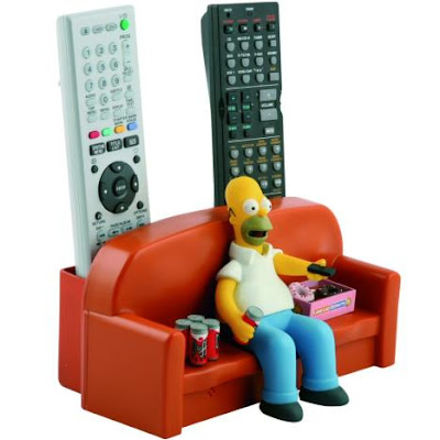 Simpsons remote control holder