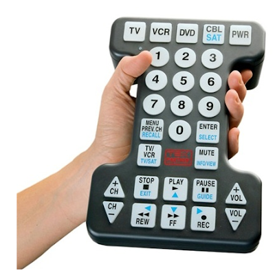 large button universal remote