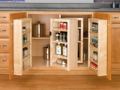 pivot-out pantry