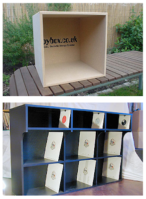 storage boxes for vinyl records