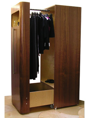pull-out wardrobe
