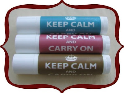 Keep Calm and Carry On Lip Balm