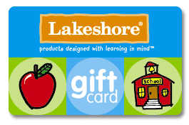 Lakeshore Learning gift card