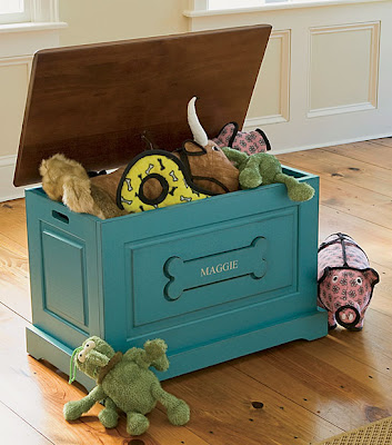 Hand Painted Toy Chest Ideas