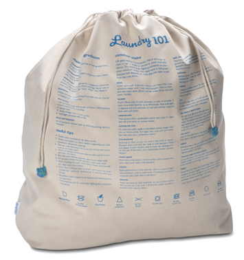 Laundry 101 bag
