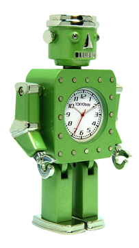 robot alarm clock
