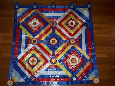 Jeri's Organizing & Decluttering News: Using the Memorabilia ... : ribbon quilt - Adamdwight.com