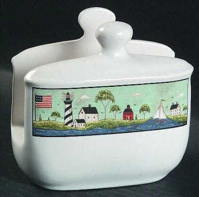 porcelain napkin holder