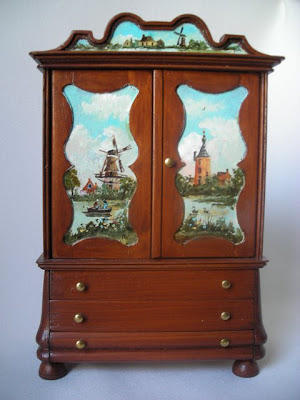 dollhouse miniature armoire