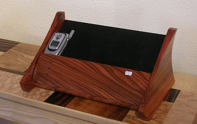 charging station, wood
