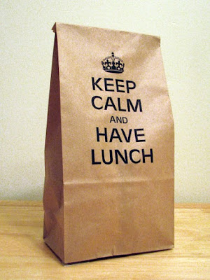 Lunch Bag: Keep Calm and Have Lunch