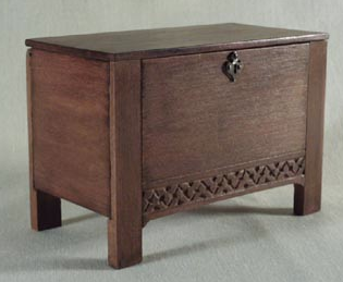 dollhouse miniature chest