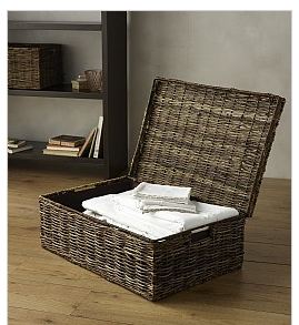underbed storage basket