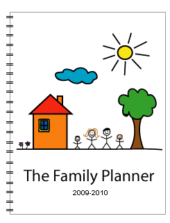 family planner cover