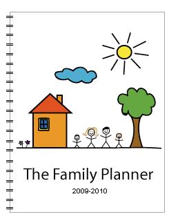 family planner cover