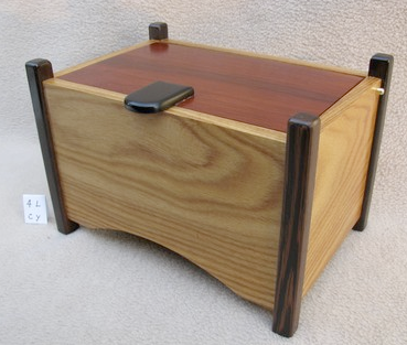 treasure box, exotic woods