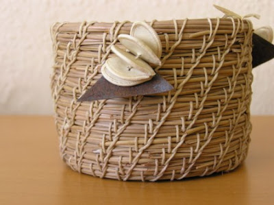 pine needle basket