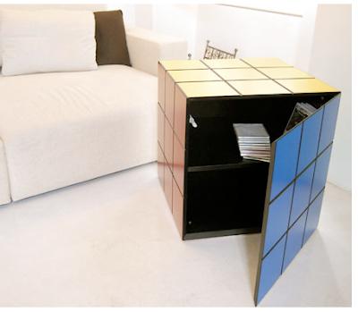 Rubik Cube container