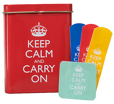 Keep Calm and Carry On bandages / plasters