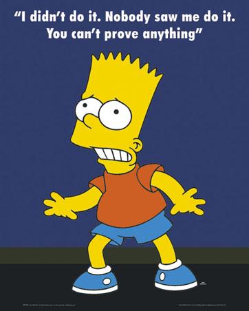 What isn 39 t philosophy - Bart simpson nu ...