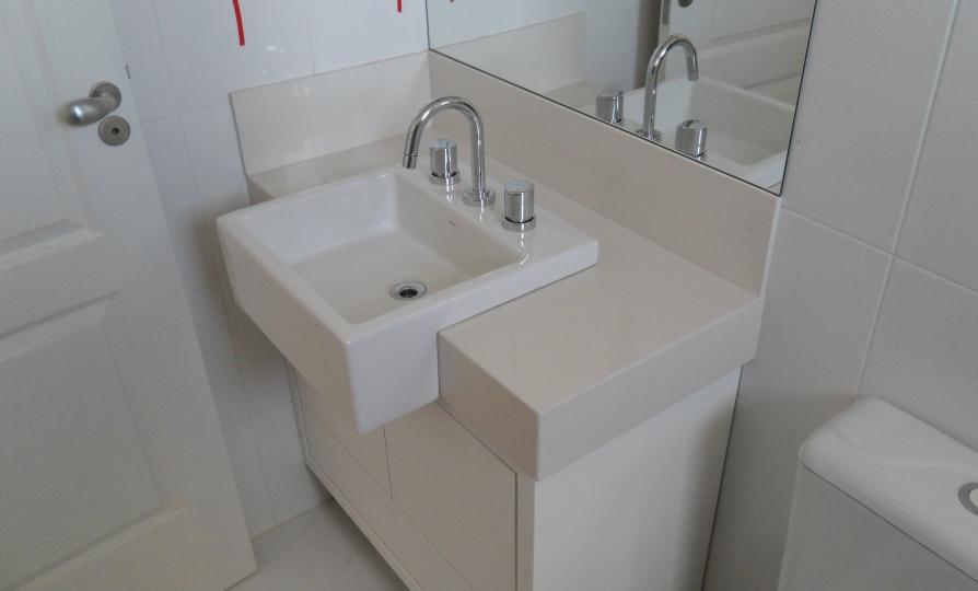 Bel Taglio , cortes especiais em porcelanato Pia de semiencaixe -> Cuba Para Banheiro De Encaixe