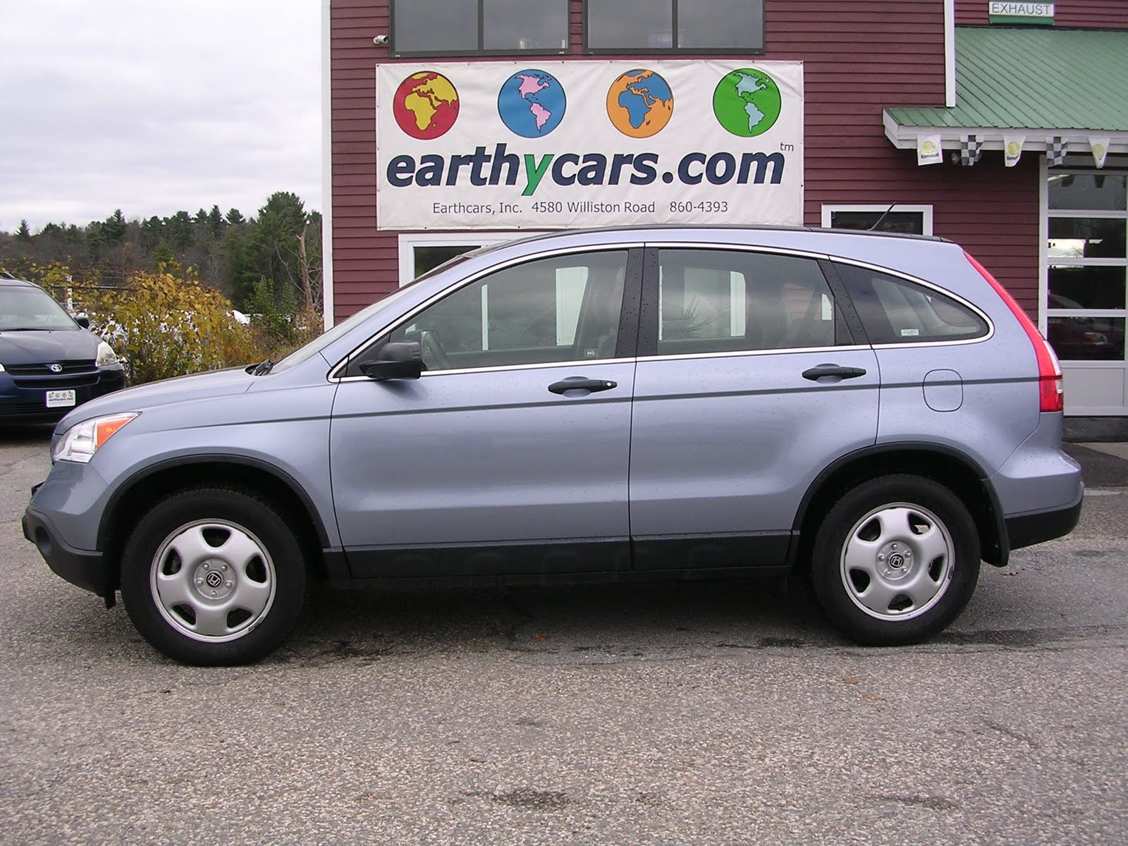 EARTHY CAR OF THE WEEK: Blue 2008 Honda CR-V LX 4WD