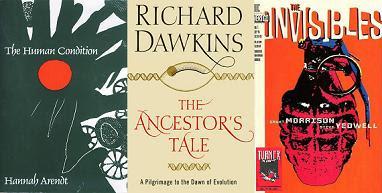 Arendt, Dawkins, Morrison...