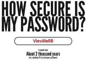 mot de passe sécurisé