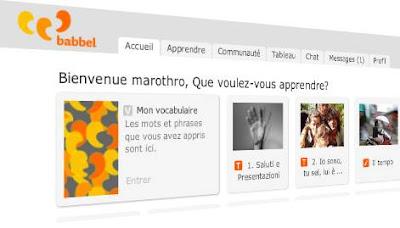 apprendre les langues avec les réseaux sociaux Babbel.com