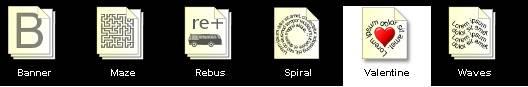 11 traitements de textes alternatifs originaux