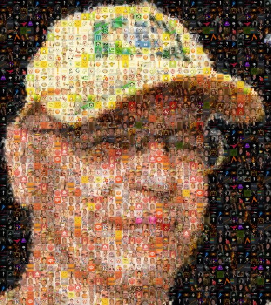 mosaique twitter