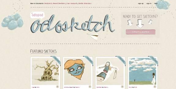 odosketch faire des sketch en ligne