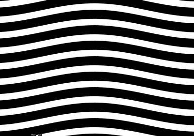 vagues noires et blanches