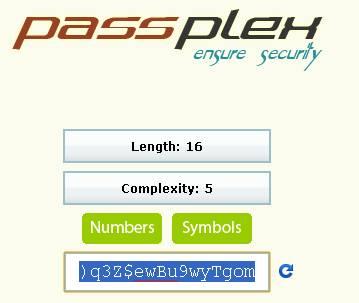 pass plex mot de passe