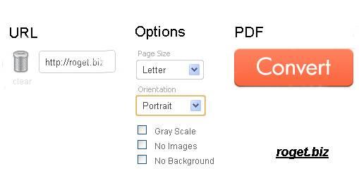 html vers pdf