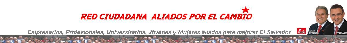 Red de ciudadanos aliados para mejorar El Salvador