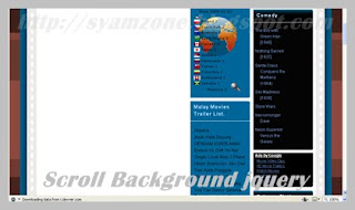 Scroll Background jQuery