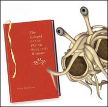 "Из ""Евангелието на Летящото Спагетено Чудовище (From ""The Gospel of the Flying Spaghetti Monster"")"