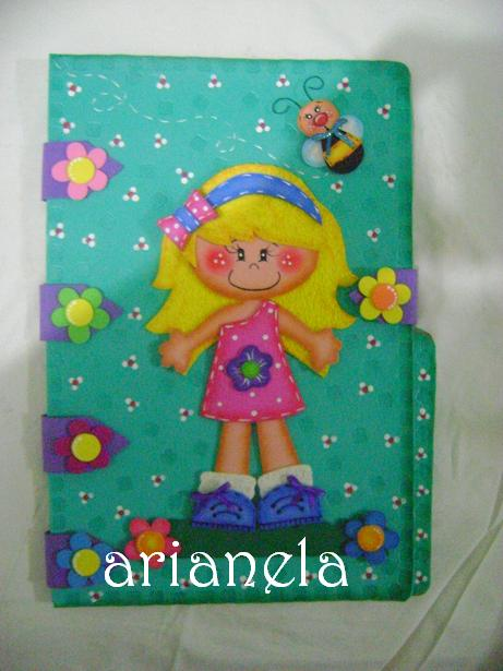 la casita de Arianela: carpetas decoradas