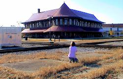 Hamlet Historic Depot - November 2, 2008