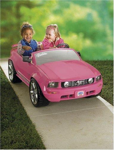 barbie mustang power wheels manual
