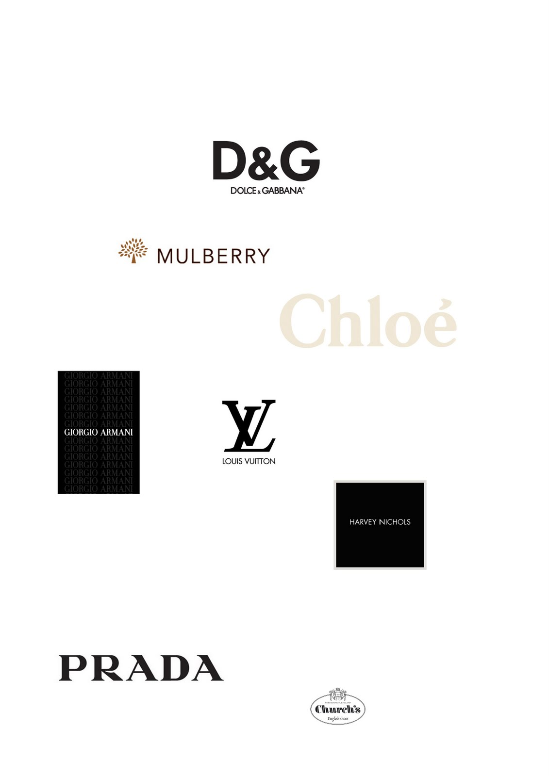 the gallery for gt high fashion designer logos
