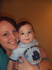 Me and my godson michael!