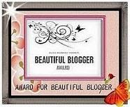 BEAUTIFUL BLOG AWARD